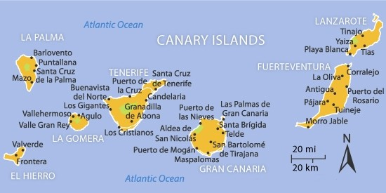 property for sale in Canary islands