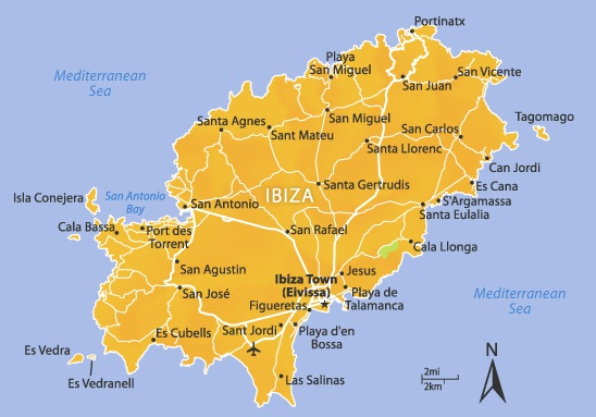 Ibiza Karte.Property For Sale In Ibiza Dream Properties International Buy A